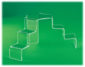 Acrylic Clear Tiered Stairs