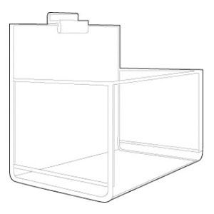 Acrylic Apparel Bins