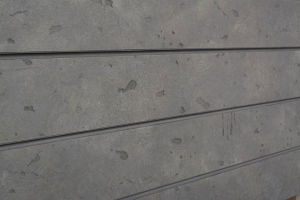 Cement Textured Slatwall