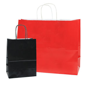Gloss Paper Shoppers