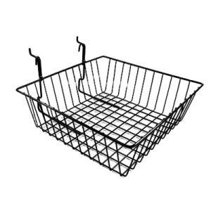 Multi Wire Baskets for Slatwall; Gridwall; Pegboard