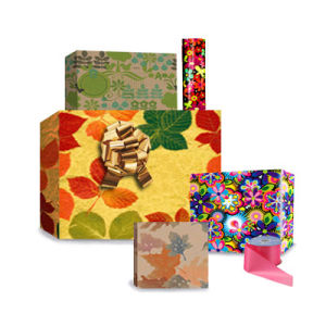 Florentine's; Floral's; Fruit's & Tapestries Gift Wrap 2