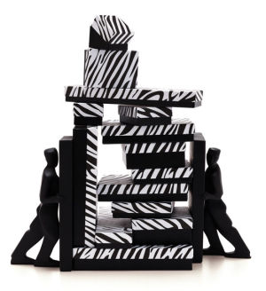Zebra Patterned Jewelry Boxes