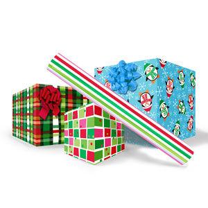 "Christmas Giftwrap 24"" x 50' Rolls"