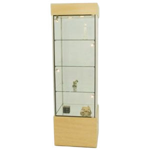 Compact Square Tower Display Case
