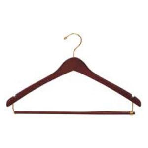Wooden Contoured Suit Hangers