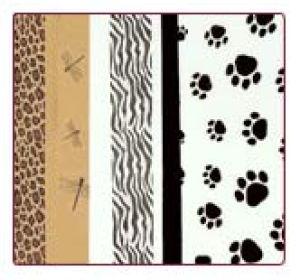 Wildlife Printed Tissue Paper Assortment Pack