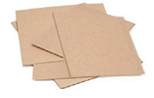 Flat Corrugated Brown Pads