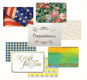 Everyday Designs for Gift Enclosure Cards