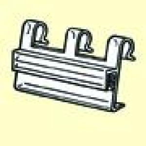 Wire Fixture Sign Holder Clear PVC Plastic