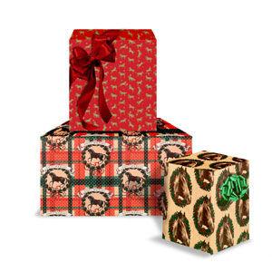Christmas Western Giftwrap