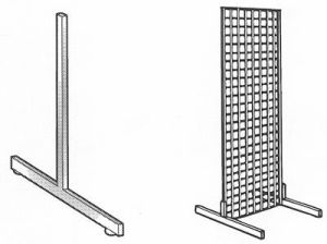 Gridwall Display Legs