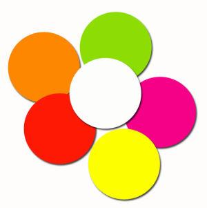 Fluorescent Circle Labels