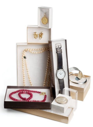 White View Top Jewelry Boxes