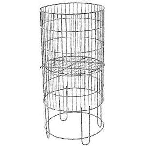 Collapsible Round Bin Display