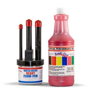 Trio Pen Set & Cannister w 32oz Ink