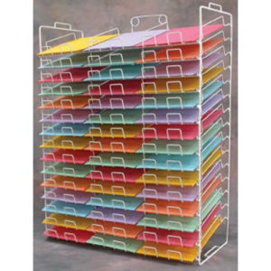 Paper Rack for 8 1 2 x 11 Stock