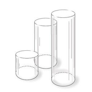 round pedestal plinths x pedestals cylinder clear product plinth acrylic large wod