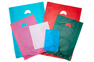 High Density Plastic Merchandise Bags