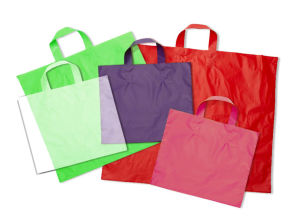 AmeriTote High Density Plastic Shopping Bags
