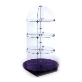 Tempered Glass Tower Displays