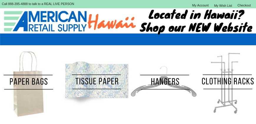 Hawaii Website