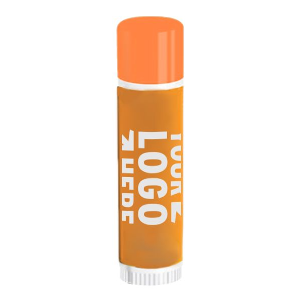 standard chapstick with customizable sleeve